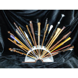 Ron 2nd wand, 55pcs Harry Potter Wand molds make your own wand multifärg one size