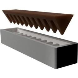 Toblerone Chocolate Mould/Mold Vit S