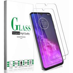 2X Skärmskydd i Härdat Glas för Motorola one zoom Transparent one size