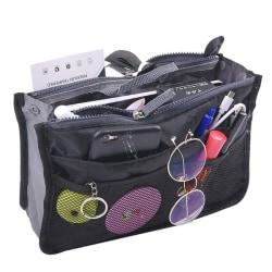 Bag in Bag Handväskinsats Väskinsats Svart Svart one size