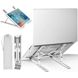 Bärbar justerbart ställ för Laptop, bärbar dator, surfplattor.. Transparent