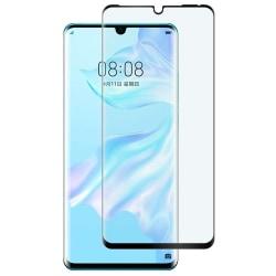 Glasskydd Huawei P30 Härdat Täcker hela skärmen Transparent