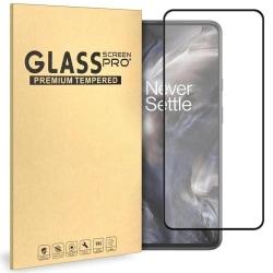 Glasskydd OnePlus Nord Härdat Täcker hela skärmen Transparent one size