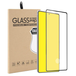 Härdat Glasskydd Samsung Note 20 Full Fit ,Fingerprint  Transparent one size