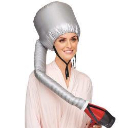Hårfön Hätta / Värmehuva För torka håret effektivt.   Silver one size