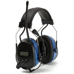 Hörselskydd med Bluetooth samt radio Blå