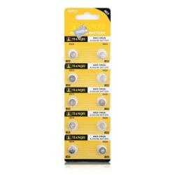 Knappcellsbatterier AG3 /384 / 392 / LR41 10st Silver