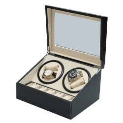 Lyxig Klockuppdragare / Klocklåda 4 + 6 Silver one size
