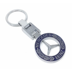 Mercedes-Benz Nyckelring Blå Silver one size