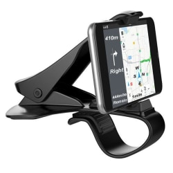 Mobilhållare för instrumentbrädan 360 Roterande Svart