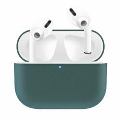 Silikonskal fodral för Apple Airpods PRO Grön Green one size