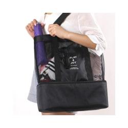 Stor Smidig Väska med Extra Kyl Utrymme Svart Svart one size