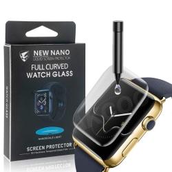 UV Ljus Displayskydd i härdat glas till Apple Watch 40mm Transparent