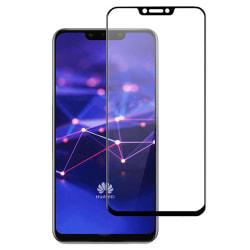Skärmskydd Huawei Mate 20 Lite - Heltäckande Glas Svart Svart