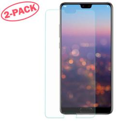 2-Pack Skärmskydd - Huawei P20 Lite - Härdat Glas