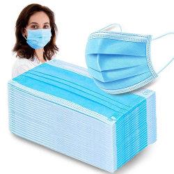 20-Pack - Munskydd - CE-Märkt - Skydd Mask Skyddsmask Ljusblå
