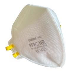 20-Pack - Munskydd FFP3 CE Märkt - Skydd Mun / Mask - Platt Vit