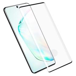 Skärmskydd - Samsung Galaxy Note 10 Plus - Heltäckande Glas