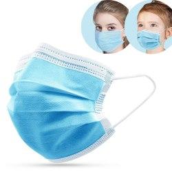 50-Pack - Munskydd Barn - CE Märkt - Skydd Mun - Mask Skyddsmask