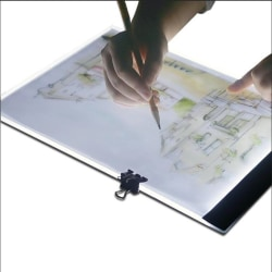 A4 LED Ritplatta - Ljusbord / Ljusplatta - Portabel