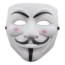 Anonymous Mask - Guy Fawkes / V for Vendetta Vit