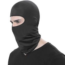 Ansiktsmask / Skidmask / MC-mask / Balaklava - Svart Svart