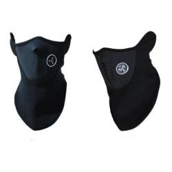 Ansiktsmask / Skidmask / MC-mask - Neoprene (Svart) Svart