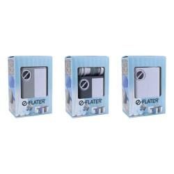 E-Flater Luftpump - Pump till Madrass - Ljusgrå