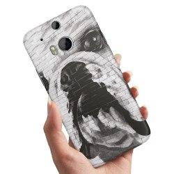 HTC One M8 - Skal / Mobilskal Hund Graffiti