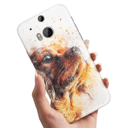 HTC One M8 - Skal / Mobilskal Hundvalp