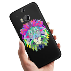 HTC One M8 - Skal / Mobilskal Lejon