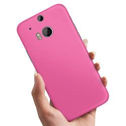 HTC One M8 - Skal / Mobilskal Magenta