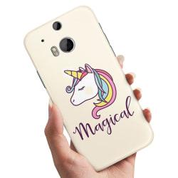 HTC One M8 - Skal / Mobilskal Magisk Ponny
