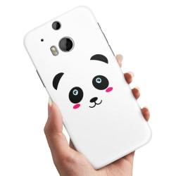 HTC One M8 - Skal / Mobilskal Panda