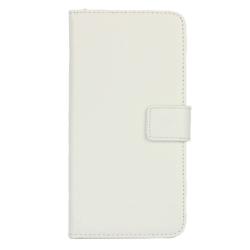 HTC One M9 Plånboksfodral Läder Vit white