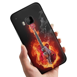 HTC One M9 - Skal / Mobilskal Hell Guitar