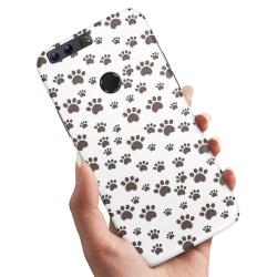 Huawei Honor 8 - Skal / Mobilskal Paw Pattern