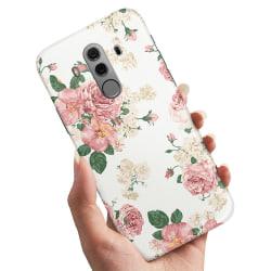 Huawei Mate 10 Pro - Skal / Mobilskal Retro Blommor