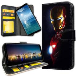 Huawei Mate 20 Lite - Mobilfodral Glowing Iron Man