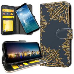 Huawei Mate 20 Lite - Mobilfodral Lövblommor
