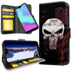 Huawei P20 Pro - Mobilfodral The Punisher