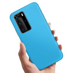 Huawei P40 - Skal / Mobilskal Ljusblå