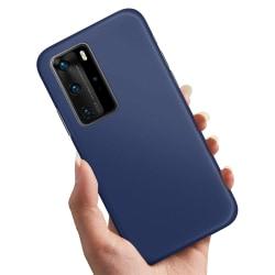Huawei P40 - Skal / Mobilskal Mörkblå