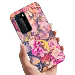 Huawei P40 - Skal / Mobilskal Roses