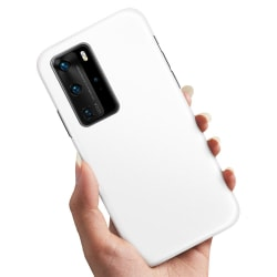 Huawei P40 - Skal / Mobilskal Vit