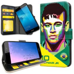 Huawei Y6 (2017) - Mobilfodral Neymar