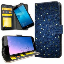 Huawei Y6 (2017) - Mobilfodral Stjärnmönster