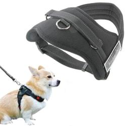 Hundsele / Sele till Hund, Svart - Large