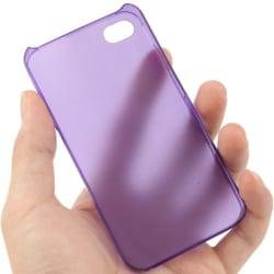 iPhone 4/4S - Lätt & Tunt Scrub Skal / Mobilskal Lila purple