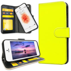 iPhone 5/5S/SE - Mobilfodral Gul Gul